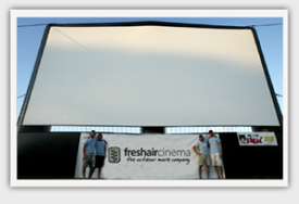 FreshAirCinema Screen